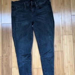 Distressed Vince jeans